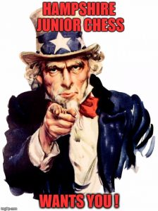 Hampshire Junior Chess Wants You !