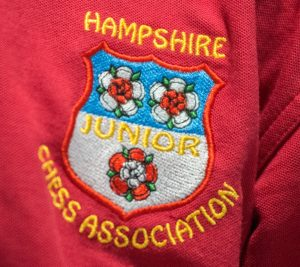 Official Hampshire Junior Chess Association Logo