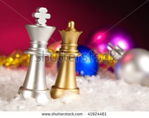 Christmas Chess Pieces